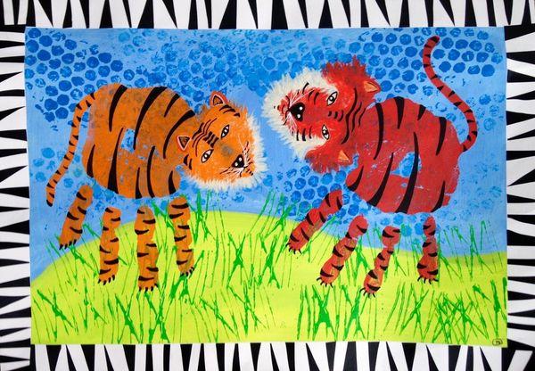 Tigertryk