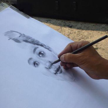 Portrættegning