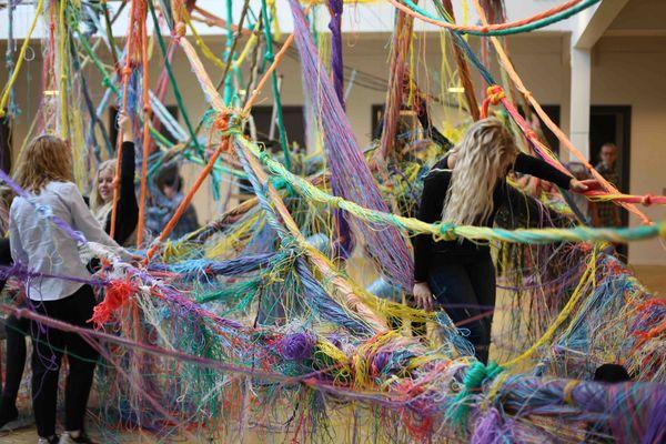 Karoline K Larsen  installation